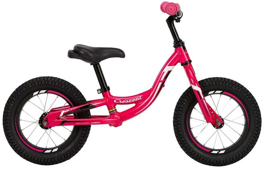 "Balanscykel Crescent Snotra Walk 12"" rosa one-size"