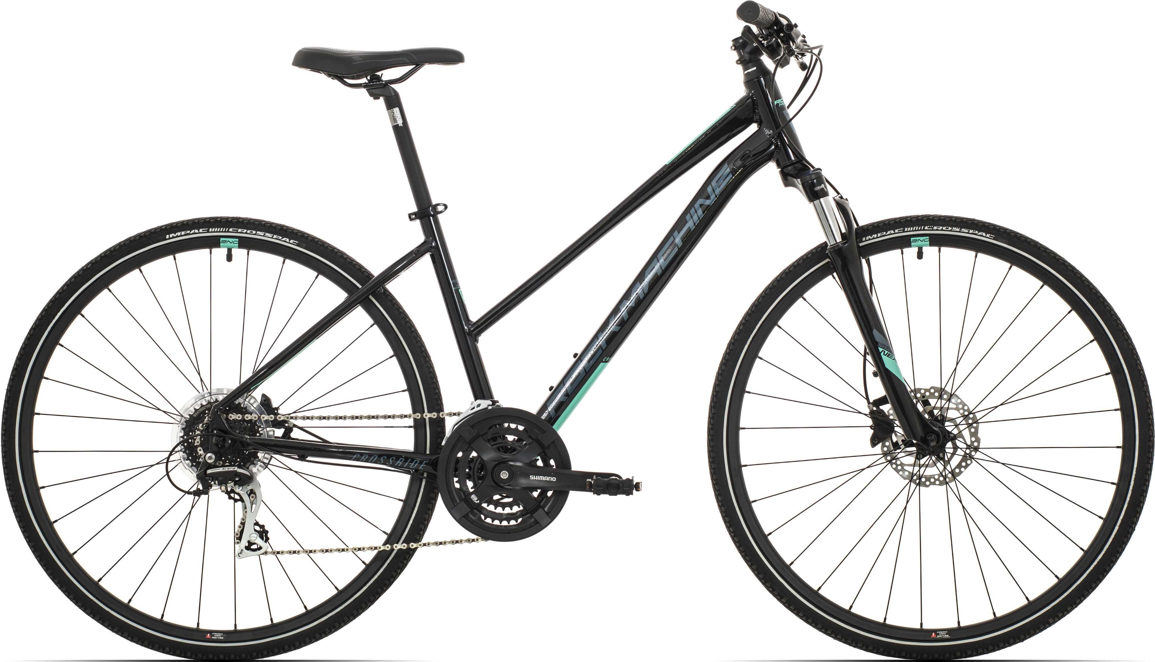Rock Machine Crossride 300 Lady svart/mintgrön/grå medium