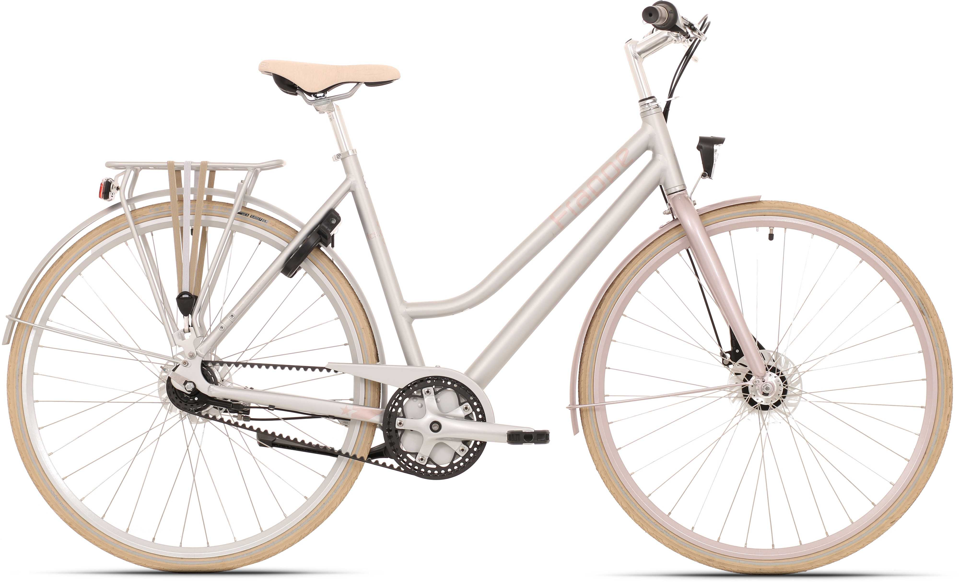 Frappe FCS 300.7 Lady matt silver/rosa 53 cm