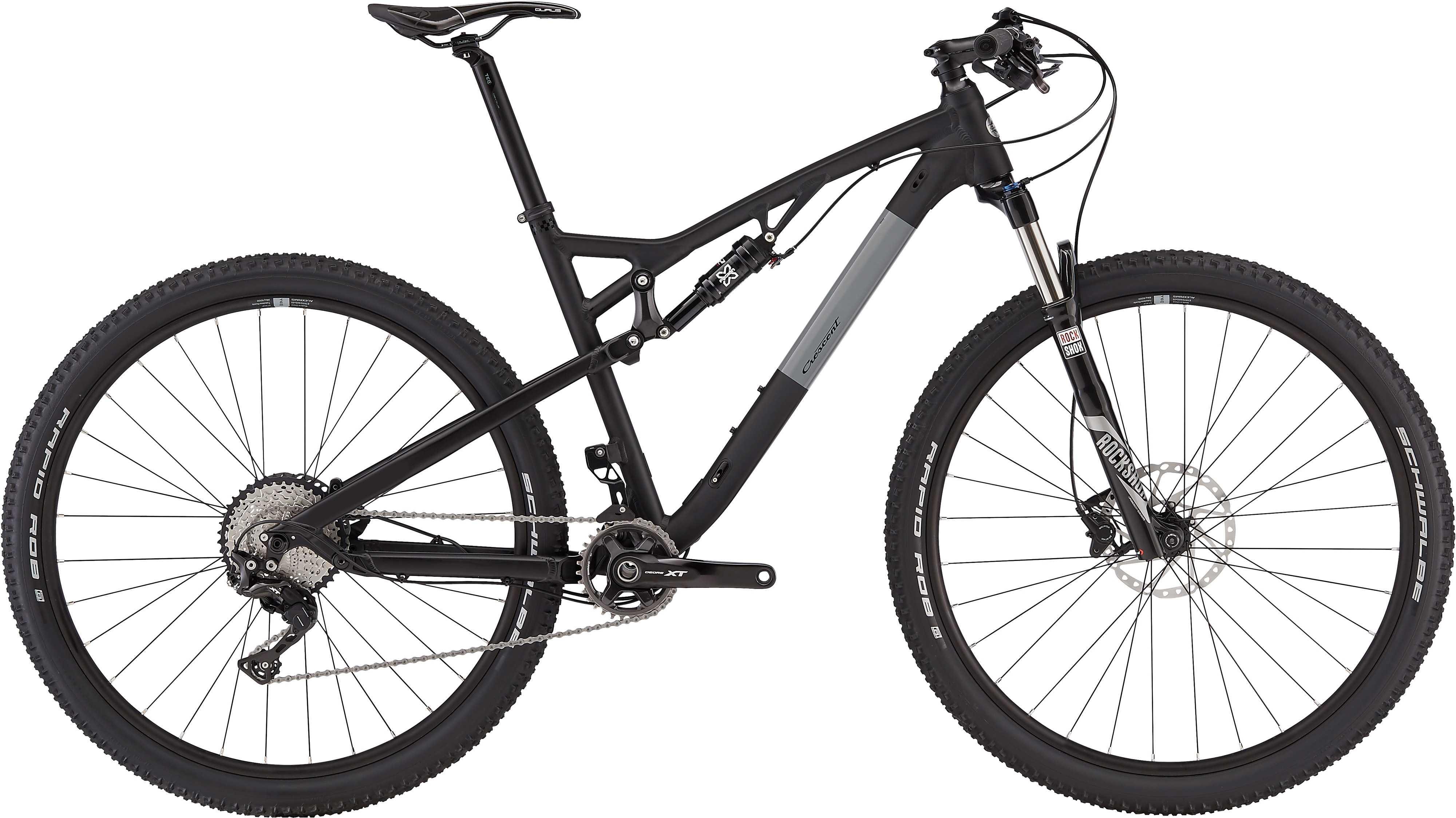 Crescent Stark S30 29 matt svart 48 cm