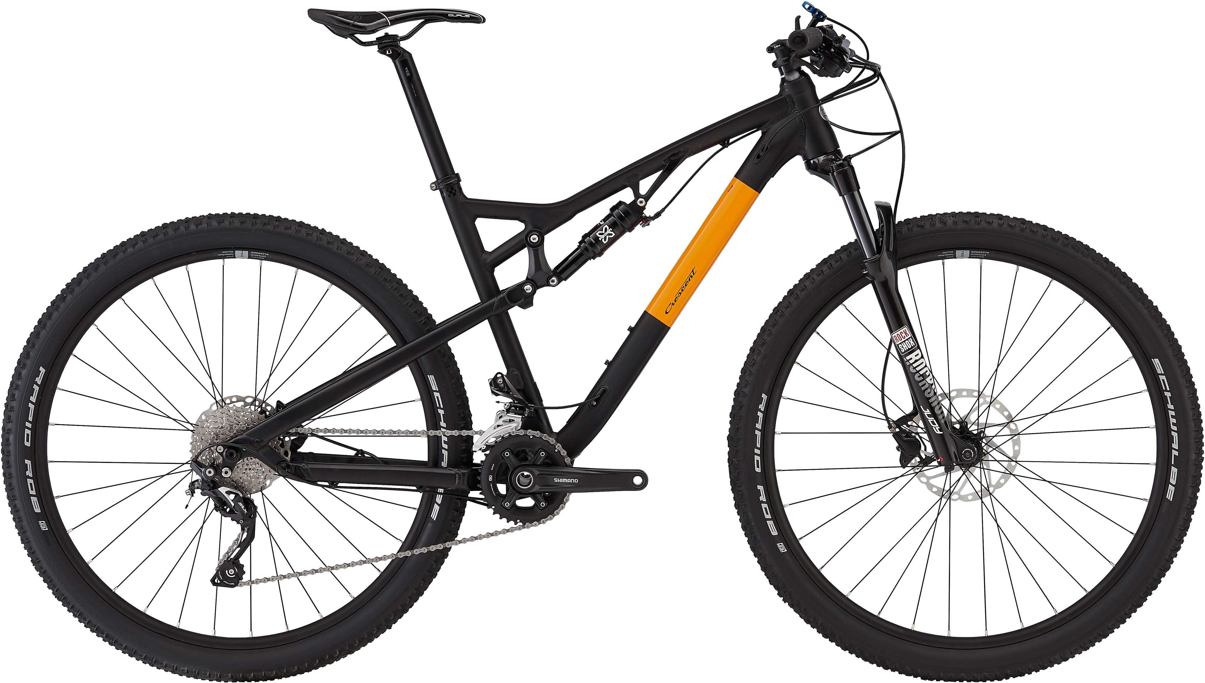 Crescent Stark S40 29 matt svart 39 cm