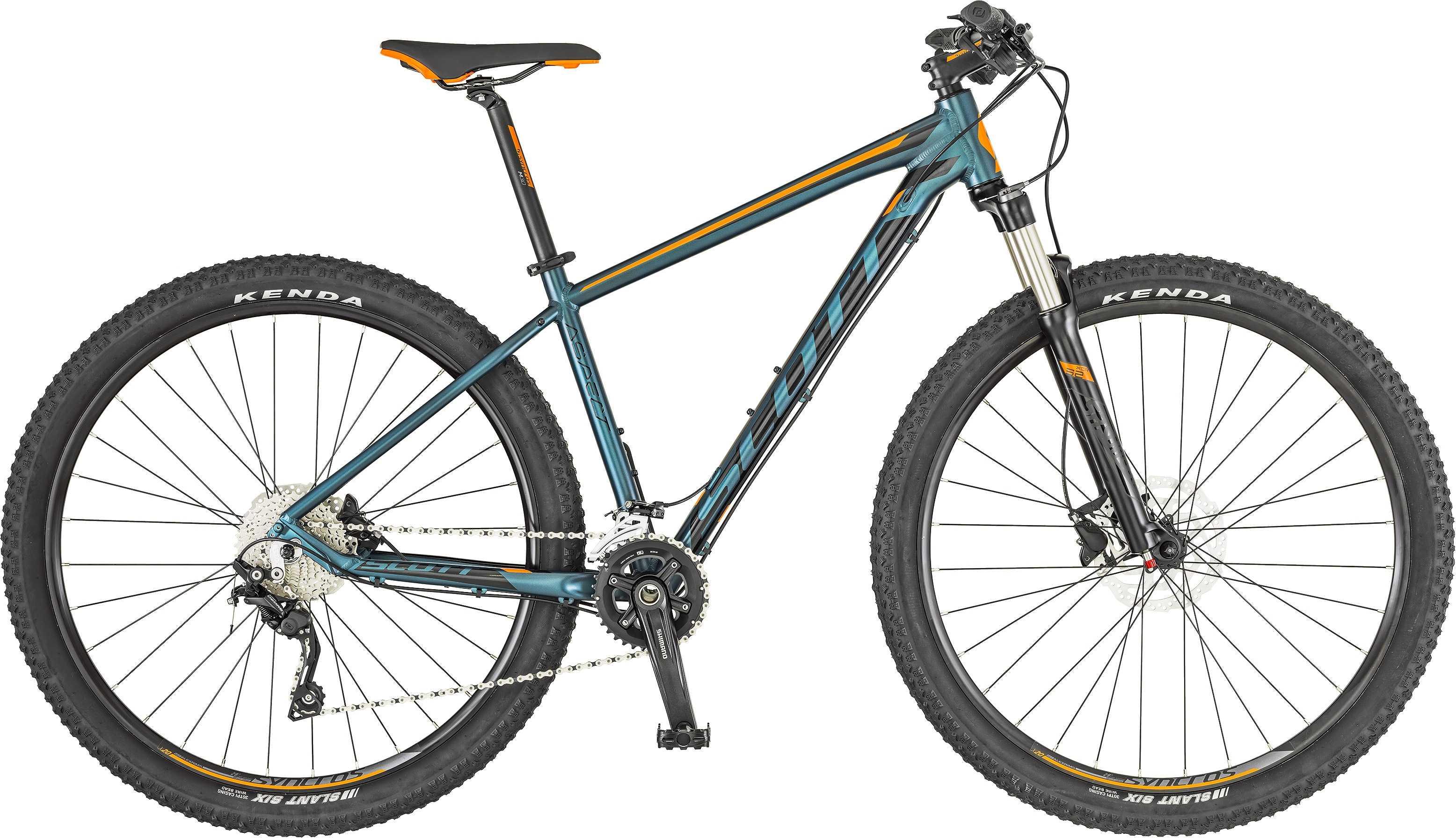 Scott Aspect 920 blå/orange xx-large