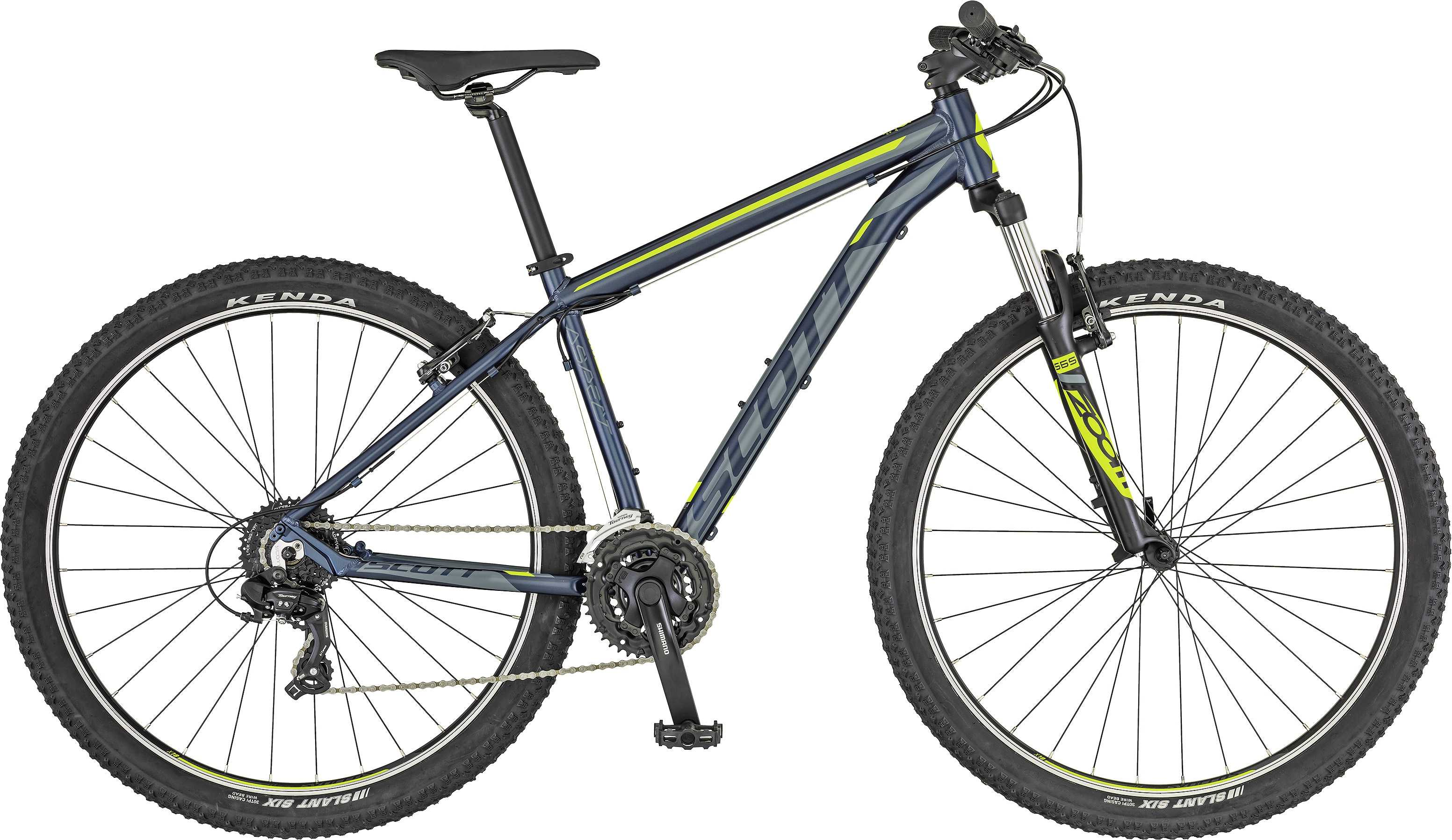Scott Aspect 980 blå/gul x-large