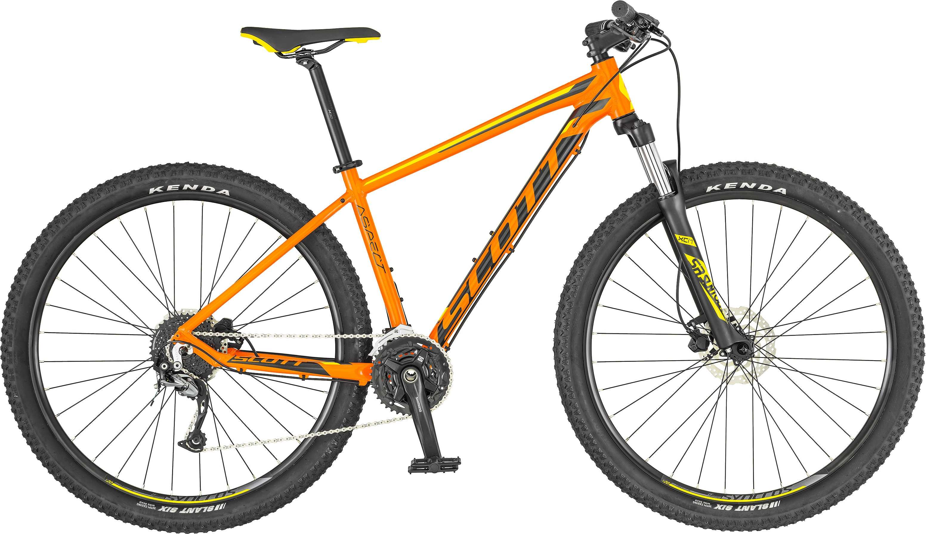 Scott Aspect 740 orange/gul x-small