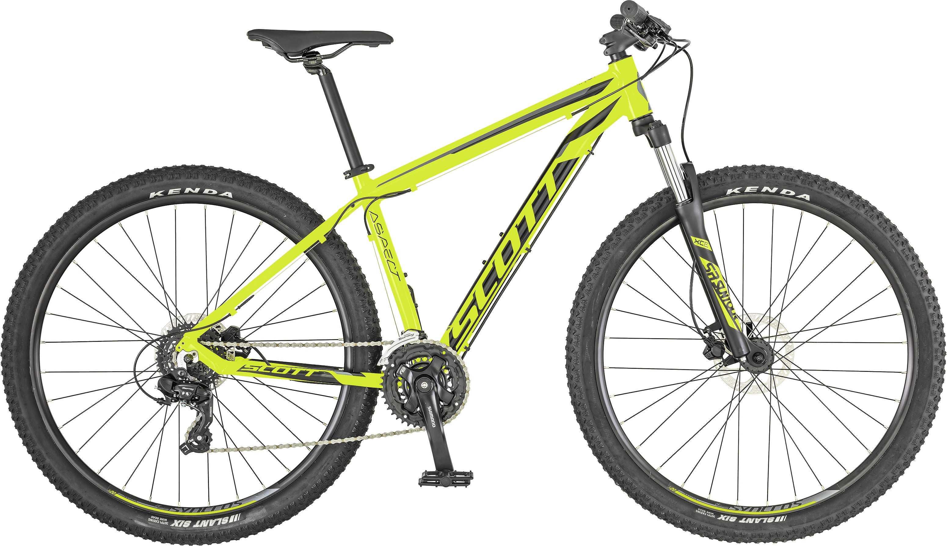 Scott Aspect 760 gul/grå small