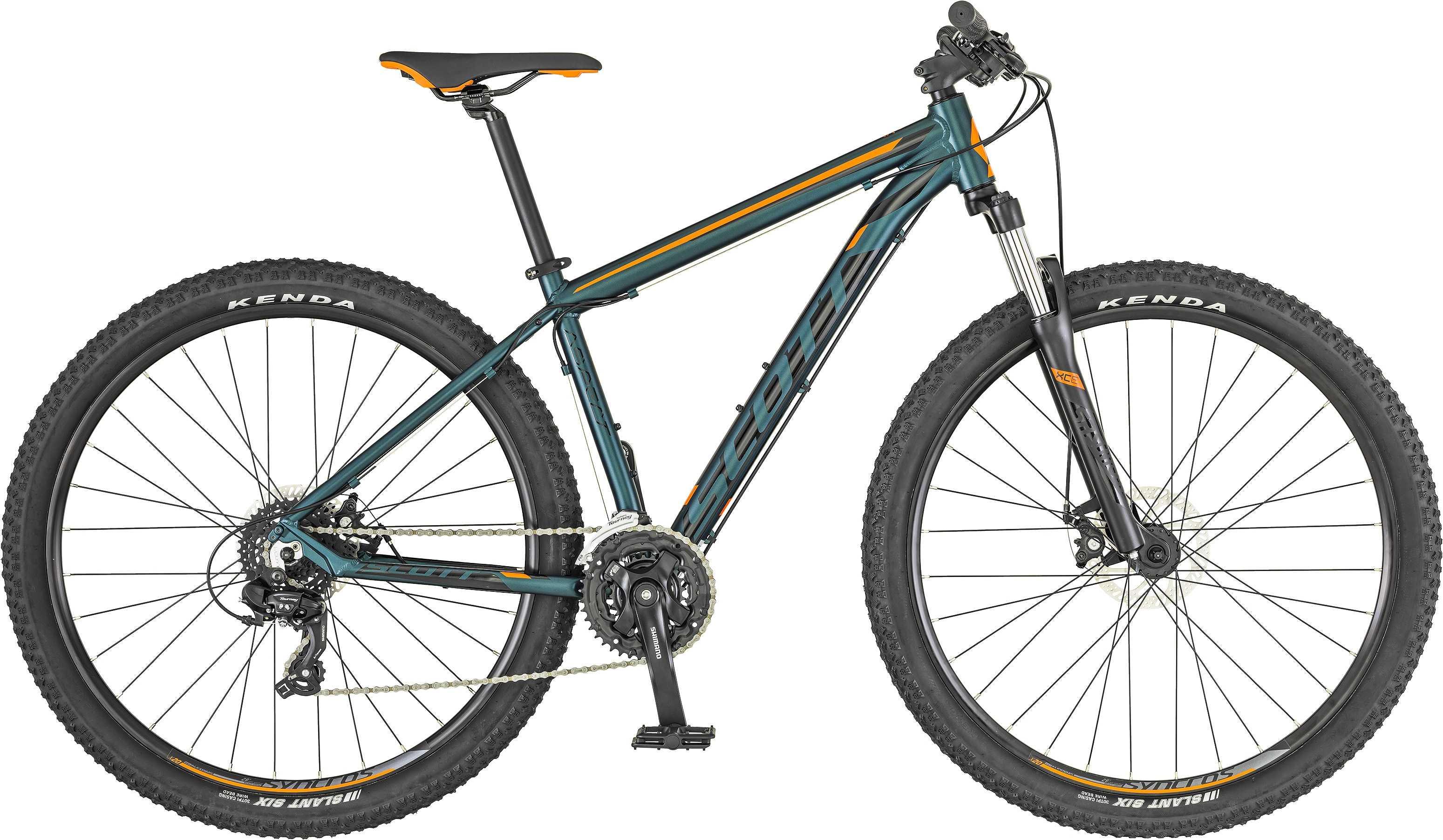 Scott Aspect 770 blå/orange large