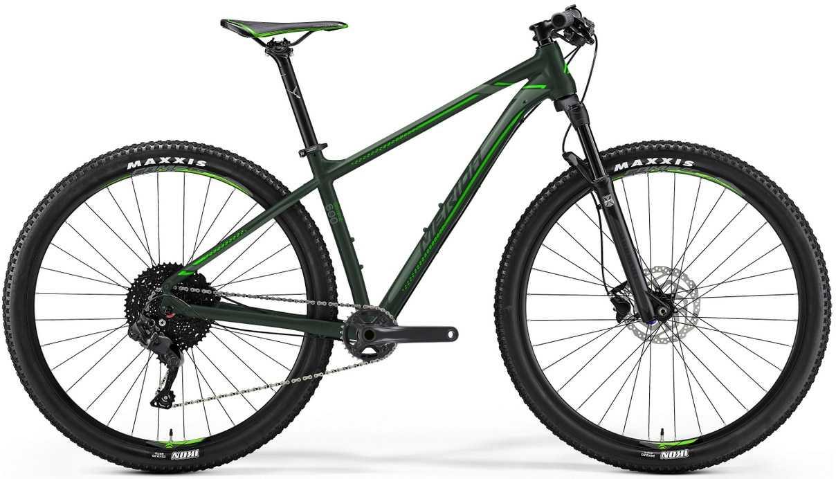 Merida Big.Nine 600 grön xx-large