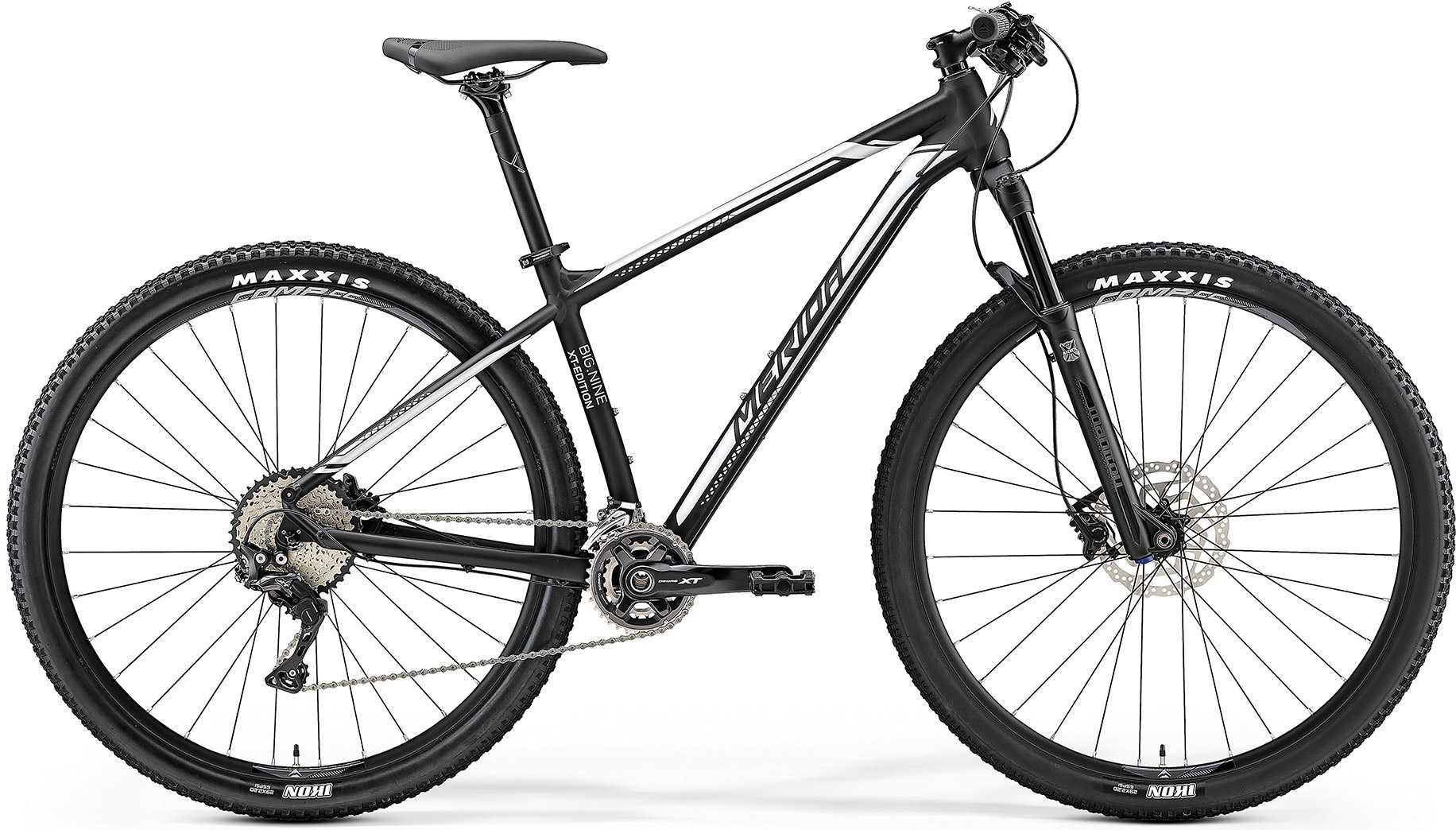 Merida Big.Nine XT-Edition matt svart/silver medium