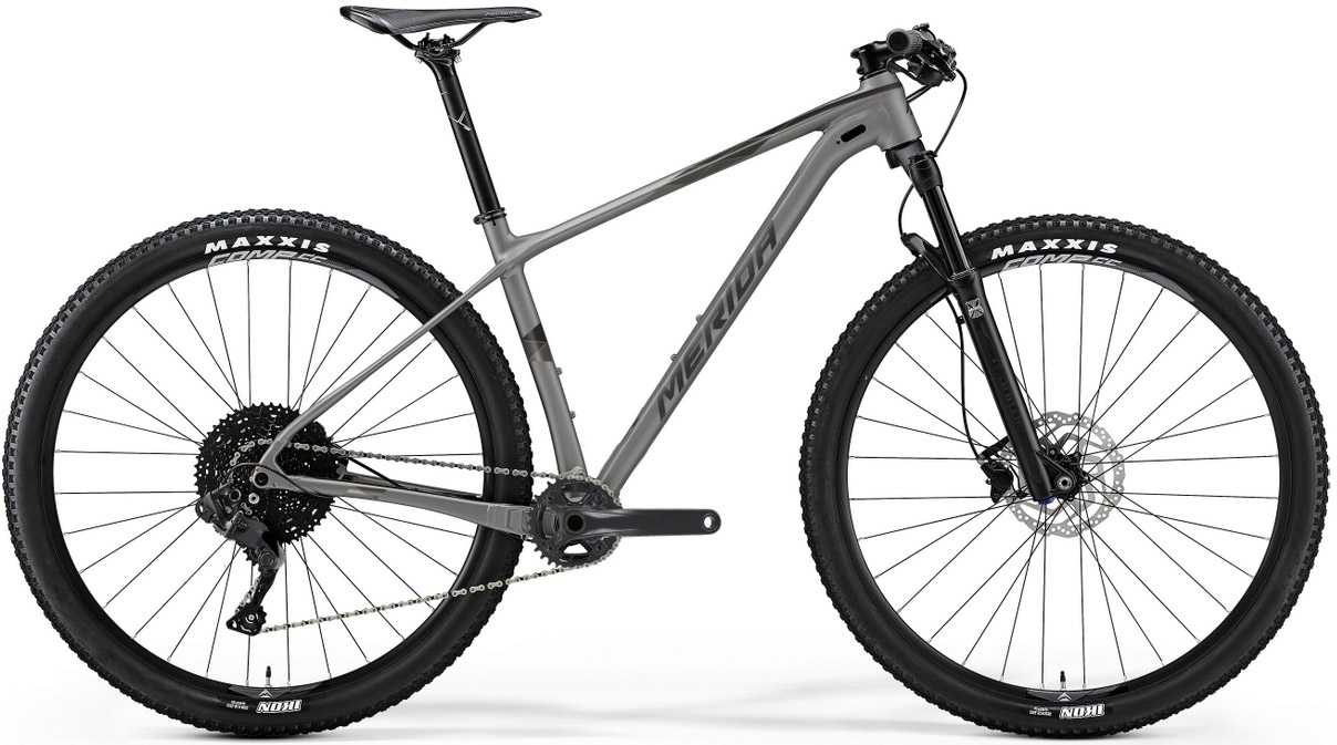 Merida Big.Nine NX-Edition silver/svart medium
