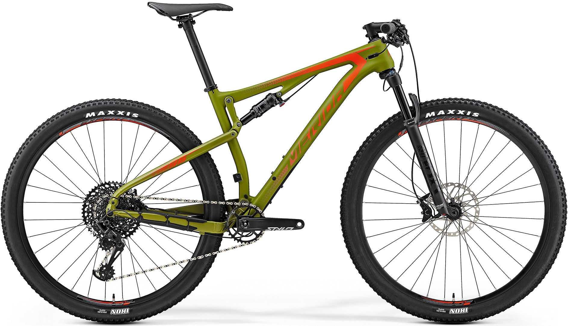 Merida Ninety-Six 6000 29 matt olivgrön/röd medium