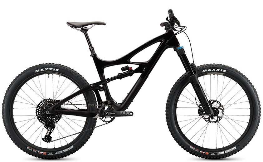 Ibis Mojo HD4 NX Eagle CK Edition back in black large