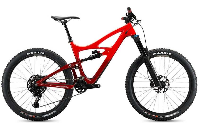 Ibis Mojo HD4 GX Eagle CK Edition fireball red x-large