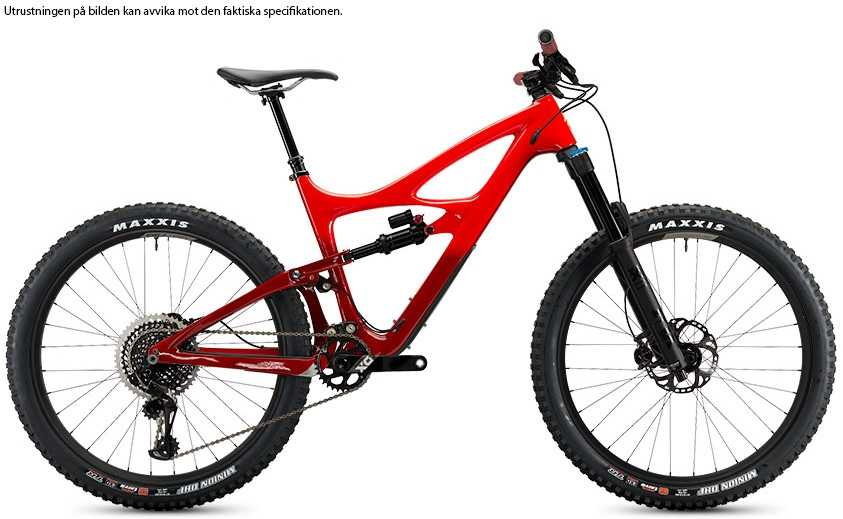 Ibis Mojo HD4 XT CK Edition fireball red x-large