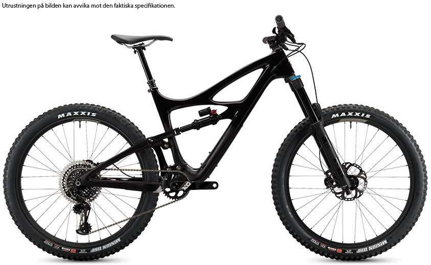 Ibis Mojo HD4 XT CK Edition back in black small