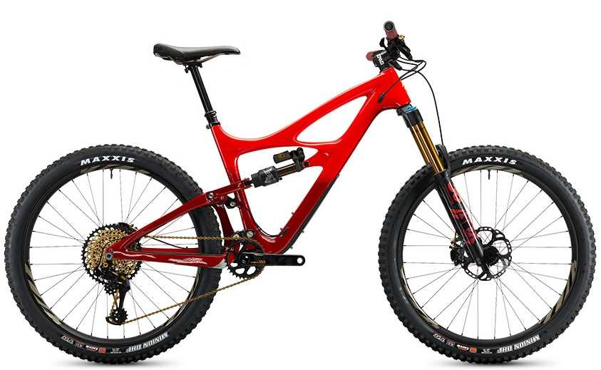 Ibis Mojo HD4 XX1 Eagle CK Edition fireball red large