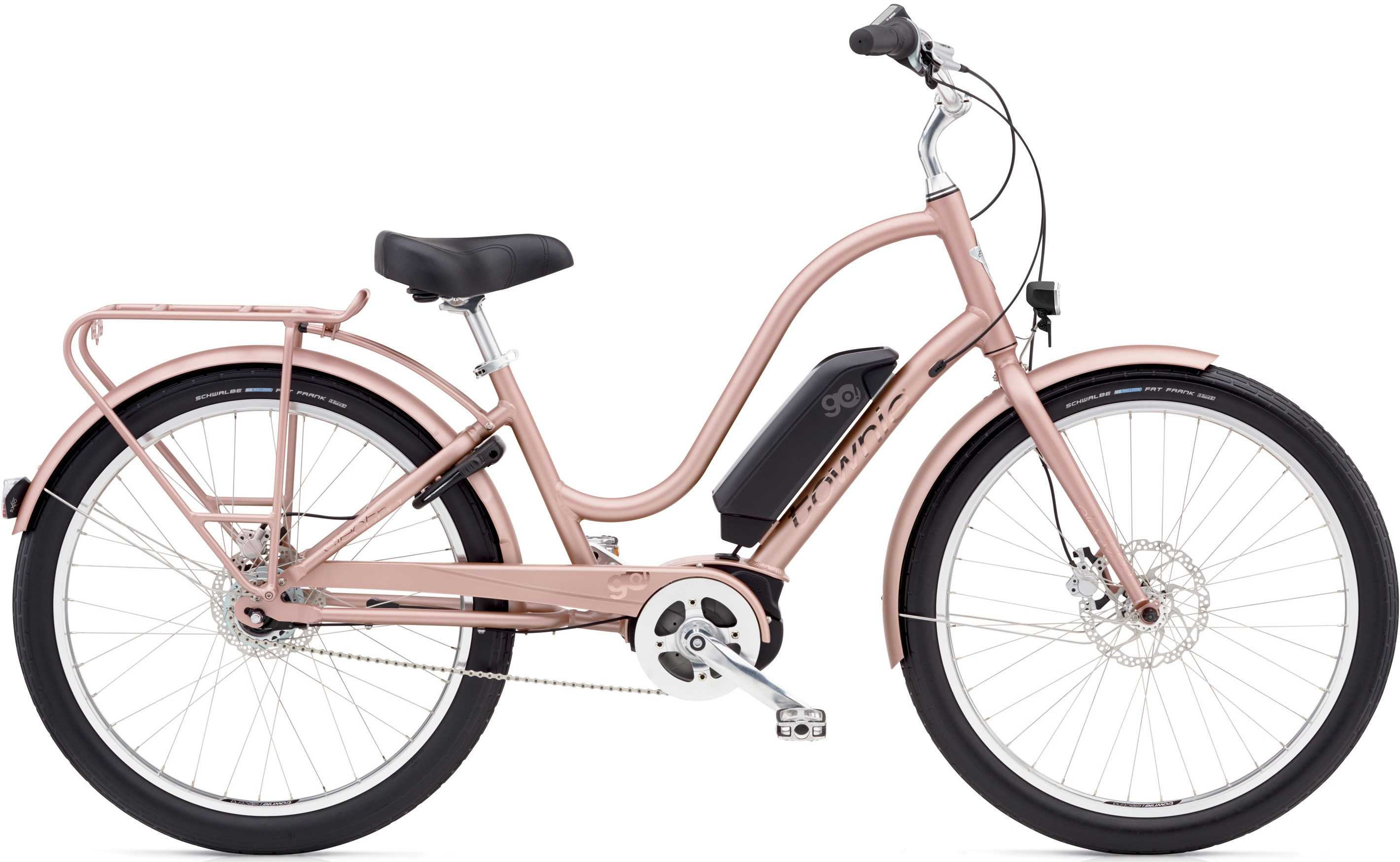 Electra Townie Go! 8I dam rose gold one-size