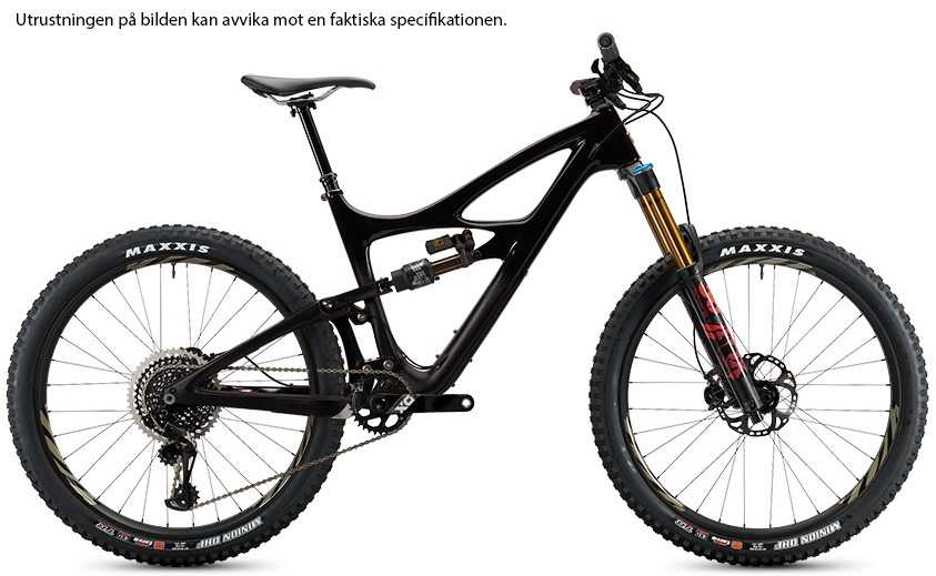 Ibis Mojo HD4 X01 Eagle AXS i9 Carbon CK Edition back in black small