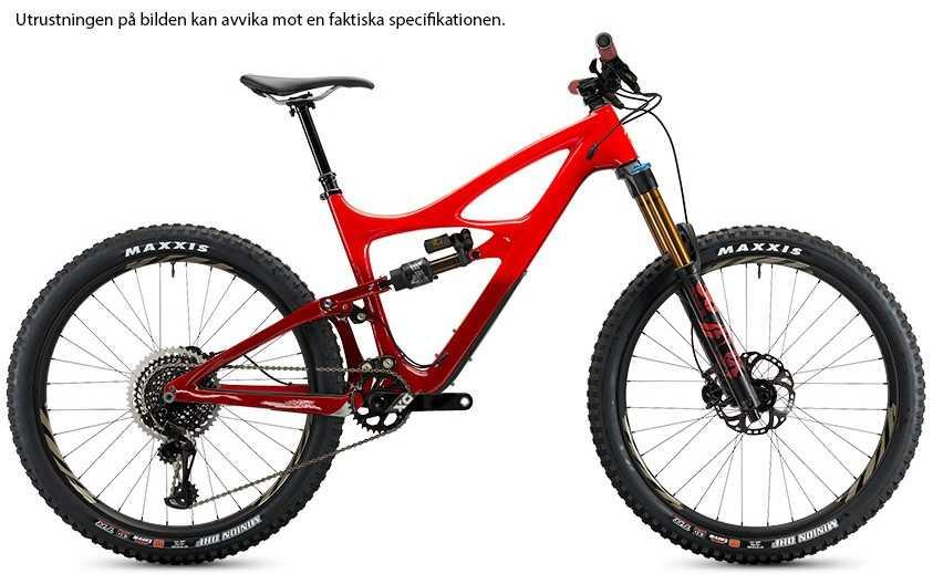 Ibis Mojo HD4 XT i9 Carbon CK Edition fireball red x-large
