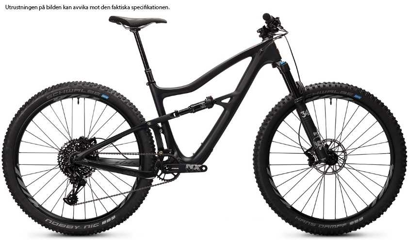 Ibis Ripley 4 NX Eagle i9 Carbon CK Edition mat black x-large