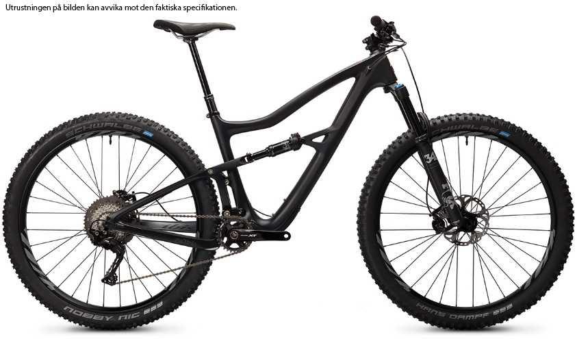 Ibis Ripley 4 XT i9 Carbon CK Edition mat black large
