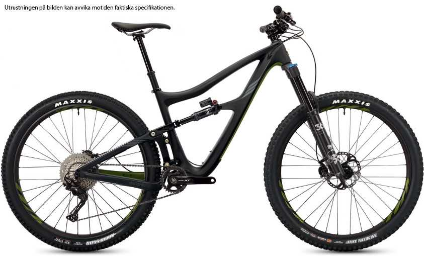 Ibis Ripmo XT i9 Carbon CK Edition black olive small