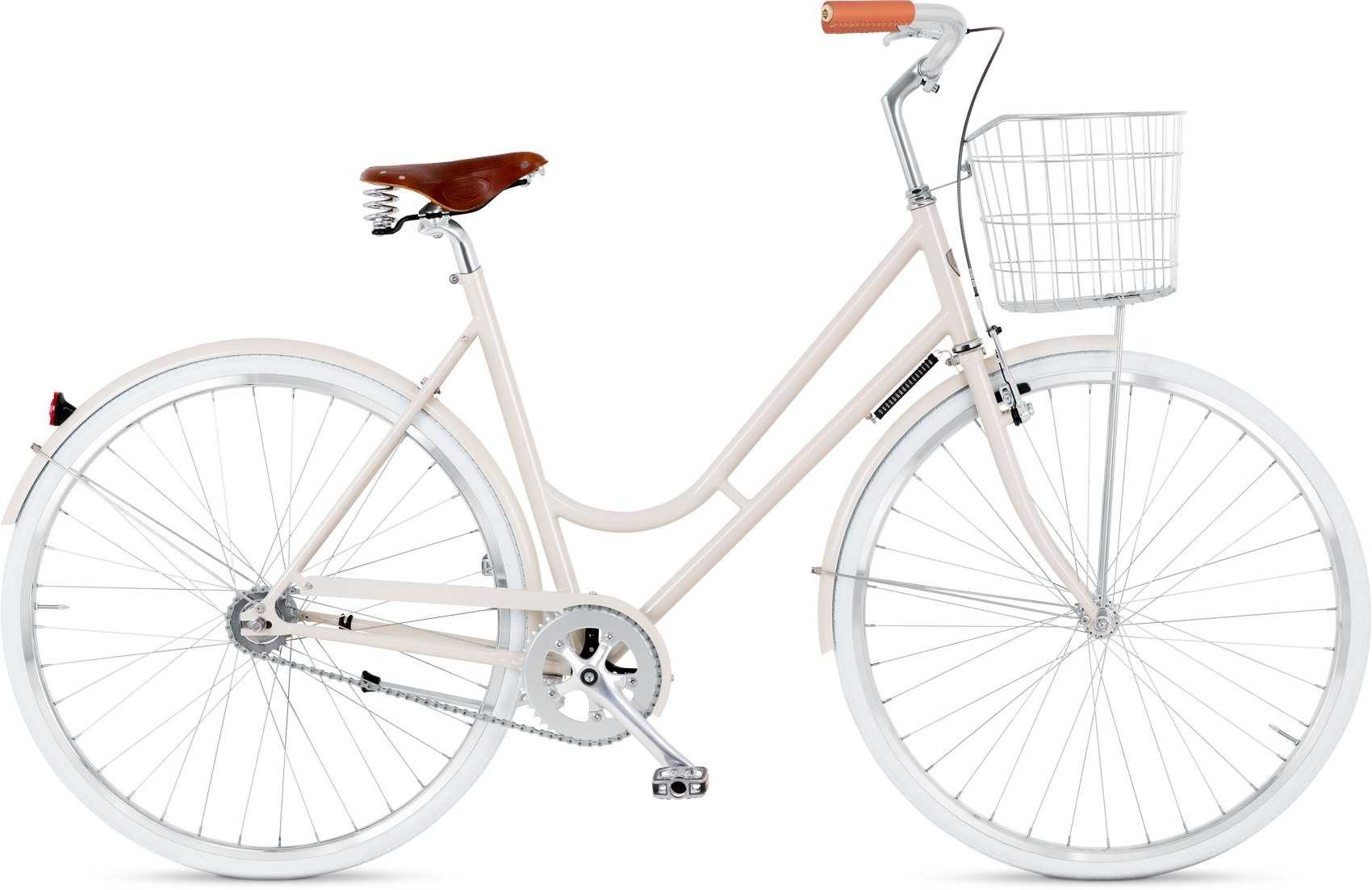 BIKEID Step-through 2-växlad beige 49 cm