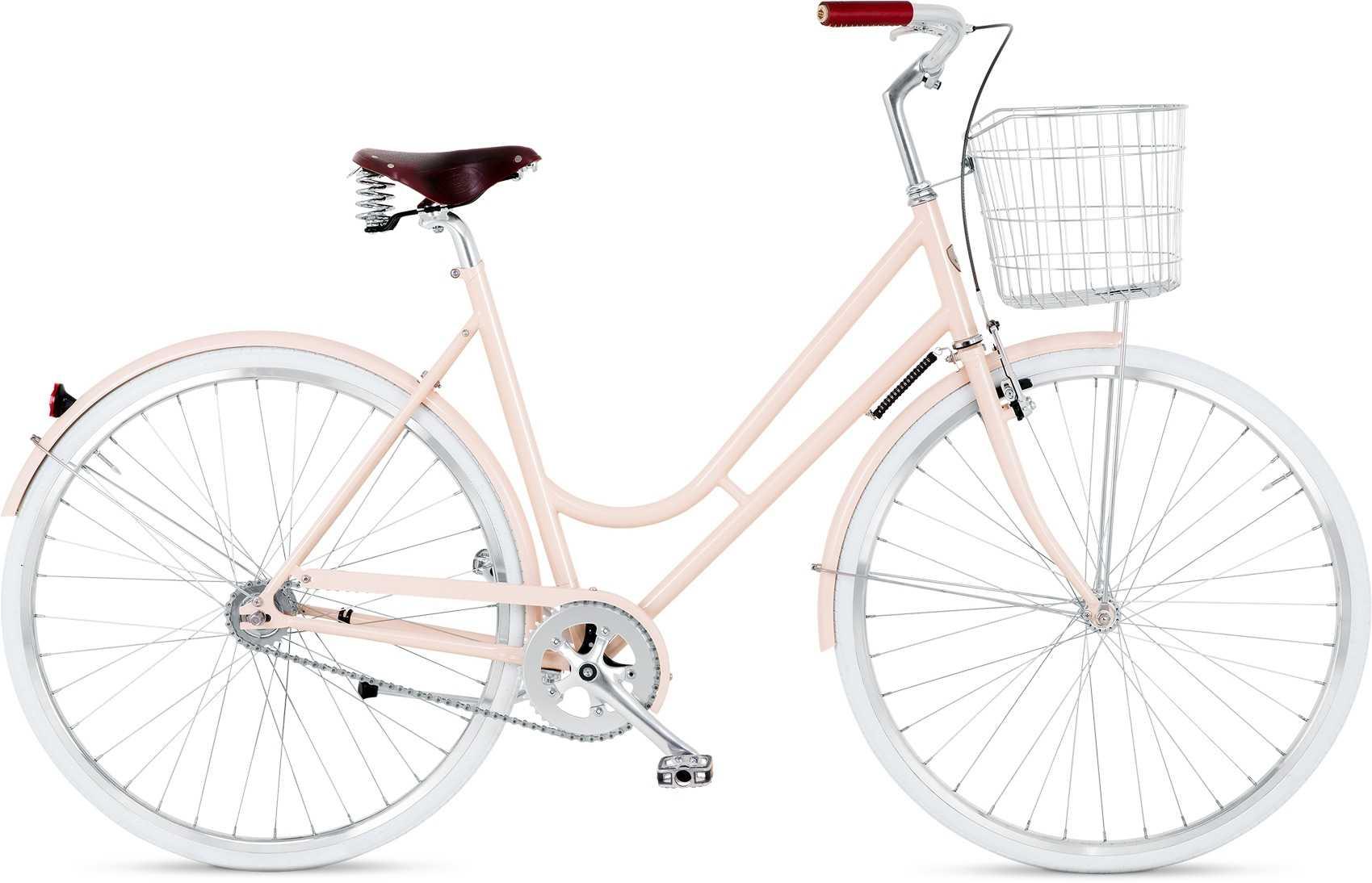 BIKEID Step-through 2-växlad rosa 49 cm