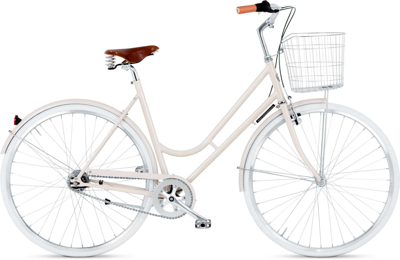 BIKEID Step-through 7-växlad beige 53 cm