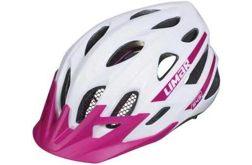 Köp Hjälm Limar 545 MTB vit lila - 499 - Cykelkraft.se 1bf25768508e0