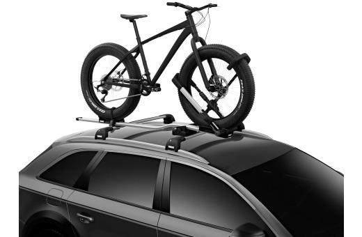Passar de flesta cyklar med hjul på 20–29 tum och upp till 3 tums bredd (upp till 5 tum med Thule UpRide Fatbike Adapter, säljs separat)