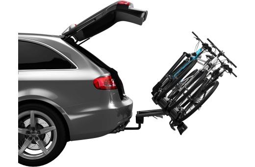 Den smarta fotmanövrerade tiltfunktionen gör bagageutrymmet lättåtkomligt