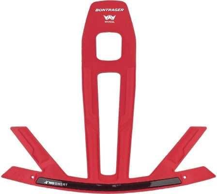 Hjälmfoder Bontrager XXX WaveCel NoSweat röd | helmets_other_clothes