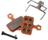 Bromsbelägg SRAM/Avid Elixir/DB/Level TL/Level T/Level metallic 1 par