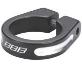 Sadelstolpsklamma BBB Thestrangler 34.9 mm svart