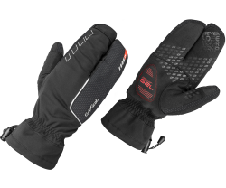 Handskar GripGrab Nordic Windproof Deep Winter Lobster svart