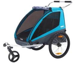 Cykelvagn Thule Coaster XT 2 barn blå