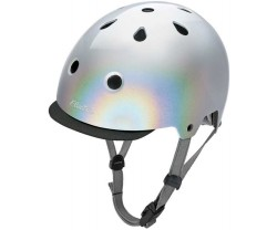 Hjälm Electra Holographic silver