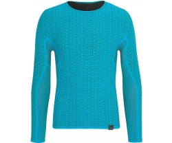 Underställ GripGrab Freedom Seamless Thermal Base Layer LS blå