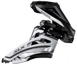 FRONTGIR SHIMANO SLX FD-M677-H 2 GIR HIGH CLAMP 28.6/31.8/34.9 MM FRONT PULL
