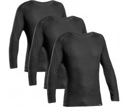 Underställ GripGrab Ride Thermal Long Sleeve 3-pack svart