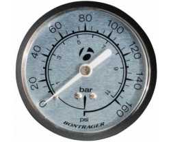 "MANOMETER BONTRAGER 2 1/2"" FOR SUPER CHARGER"
