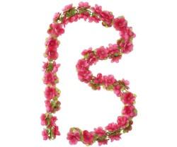 Girlang Basil Flower Garland 130 cm rød/roser