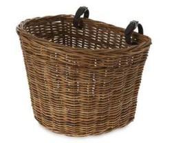 Cykelkurv Basil Darcy L foran brun