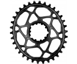 Drev AbsoluteBlack Oval Boost 148 SRAM direct mount 9-12 växlar 34T svart