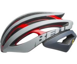 Hjälm Bell Z20 MIPS grå/röd