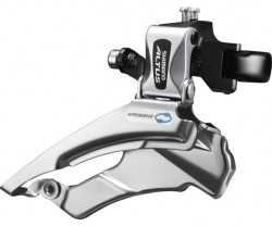 FORSKIFTER SHIMANO ALTUS FD-M313 3 GEAR HIGH CLAMP 28.6/31.8/34.9 MM DUAL PULL 63-66°