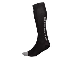 Benskydd Endura SingleTrack Shin Guard Sock svart
