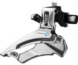 FORSKIFTER SHIMANO ALTUS FD-M313 3 GEAR HIGH CLAMP 28.6/31.8/34.9 MM DUAL PULL 66-69°