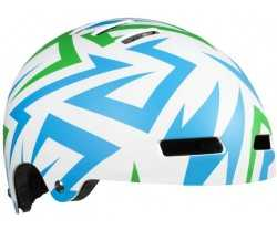 HJELM LAZER STREET JR ELECTRIC GREEN