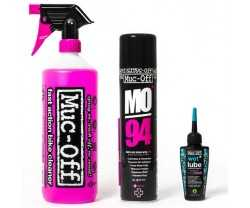Rengjøringskit Muc-off Wash Protect And Lube Kit